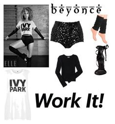 """""""Ivy park"""" by tusumc ❤ liked on Polyvore featuring French Connection, Schutz, Aéropostale and Topshop"""