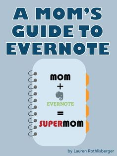 A Mom's Guide to Evernote, which includes Evernote template for budgeting or tracking household expenses Cool Gifts For Him, Evernote Template, Back To School Deals, Software, Read Later, Mom Blogs, Getting Organized, Just In Case, Social Media