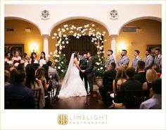 #wedding #photography #weddingphotography #Avila #Countryclub #Tampa #Florida #stepintothelimelight #limelightphotography #weddingday #bride #groom #ceremony #arch #flowers #bridalparty #holdinghands