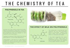 The chemicals behind the colours and supposed antioxidant properties of tea. Click on 'visit site' to read more & download.