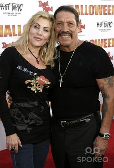 Debbie Trejo and Danny Trejo 'Halloween' premiere held at Mann's Chinese Theater - Arrivals