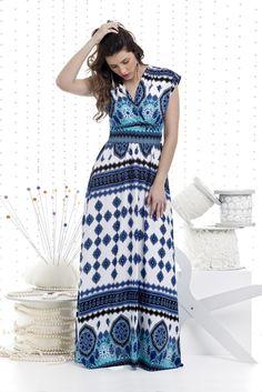 Vestido Bella Herança Viscose 5648