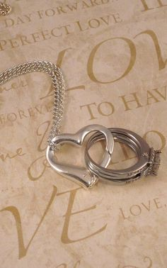 necklace that clips to your ring when you can't wear it