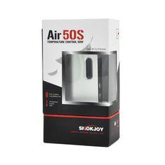 Original Smokjoy Air 50S Micro battery 1400mAh 50w Smokjoy Box Mod 510 thread Aluminium Alloy+Zinc Alloy 0.15-3.0ohm E cigarette #Affiliate