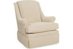 Holden Chair - available in a variety of fabrics, available with swivel, swivel glider, or swivel rocker