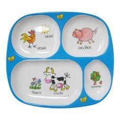 Baby Cie: Farm Animals TV Tray Plate