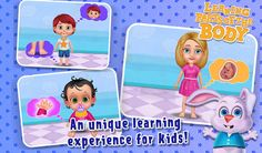 #EducationalGame Teach your kids whole body parts of the human body in a unique way.