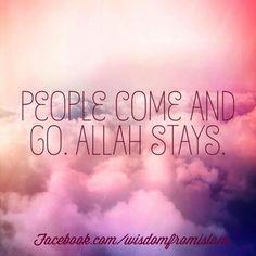 Allah stays