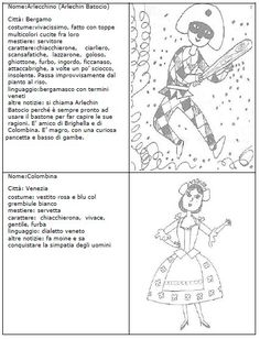 masks to color- maschere da colorare masks to color - Teaching Tools, Teacher Resources, Italian Lessons, Carnival Masks, Learning Italian, Mask Party, Fancy Party, I School, Fairy Tales