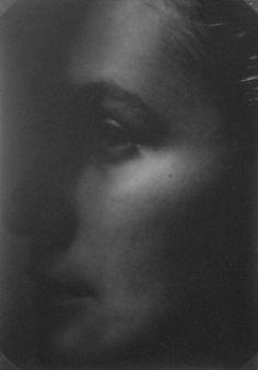 josef sudek - portrait of an unknown woman, ca. 1930.