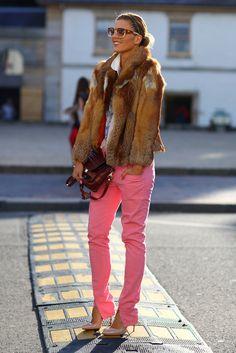 Tanja G in fur