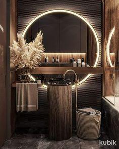Home Room Design, Dream Home Design, Modern House Design, Black Room Design, Flat Design, Bathroom Design Inspiration, Design Ideas, Interior Inspiration, Bathroom Design Luxury