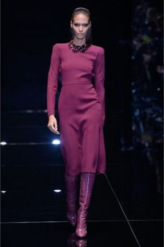 Total look orchidea di Gucci