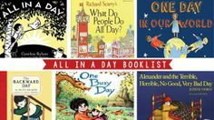 All in a Day Book List--Expose your child to all of the exciting things that can be accomplished in one day.