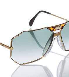 2c3459e0c0c9 CAZAL MENS 905 SUNGLASSES Gold Cazal Sunglasses