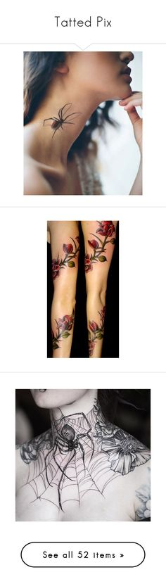 """""""Tatted Pix"""" by beautifuldistroyer on Polyvore featuring accessories, body art, tattoos, tatoos, other, backgrounds, pictures, tattoos/piercings, tattoo and tattoos & piercings"""