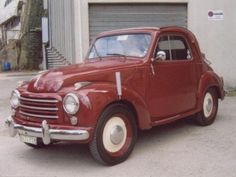 1953 #Fiat Topolino 500 C for sale - € 7.300