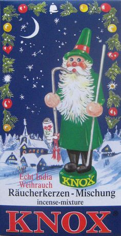 Christmas scent incense made in Germany