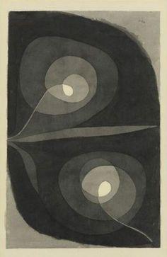 Paul Klee, Spiralscheibenbluten, 1932.