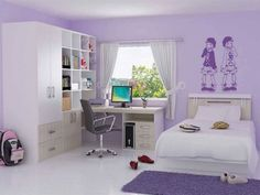 Teal and purple bedroom grey and purple girls bedroom purple girls room bedroom teenage girl room Bedroom Ideas For Teen Girls, Teenage Girl Bedroom Designs, Cute Bedroom Ideas, Teenage Room, Teenage Girl Bedrooms, Girl Rooms, Bedroom Girls, Tomboy Bedroom, Trendy Bedroom