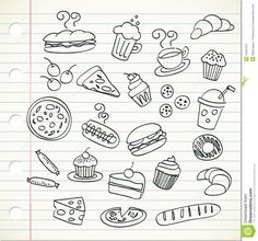 Food Doodle - Download From Over 56 Million High Quality Stock Photos, Images, Vectors. Sign up for FREE today. Image: 15451212