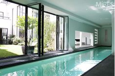 11th arrondissement of Paris, Paris, France • Architects loft in Paris 520 Sq m,  garden and a private pool • VIEW THIS HOME ► https://www.homeexchange.com/en/listing/469439/