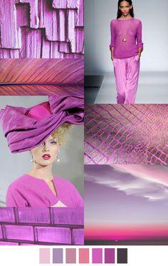 Αποτέλεσμα εικόνας για greenery pink yarrow color fashion boards
