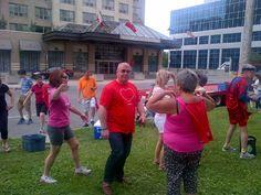2015 Heart & Stroke Big Bike Run! Kevin Benoit & Cathy Swan, Royal LePage Triland Realty