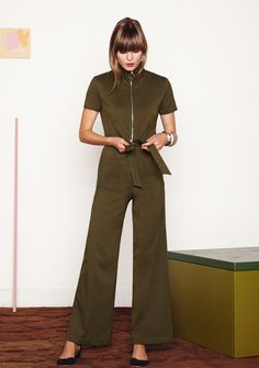 Who says jumpsuits are only for the weekends? This retro option still checks all the work-appropriate boxes.Staud Ziggy Jumper, $265, available at Staud. #refinery29 http://www.refinery29.com/business-casual-for-women#slide-16