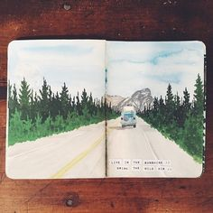 Sketchbook by Angela Anne | Season of Adventure | Inspiration