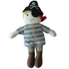 Image of Pirate Rattle by Powell Craft