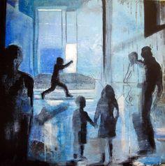 VENTEROMMET BY ANNE-BRITT KRISTIANSEN  #fineart #art #painting #kunst #maleri #bilde  www.annebrittkristiansen.com/anne-britt-kristiansen-kunst-2012