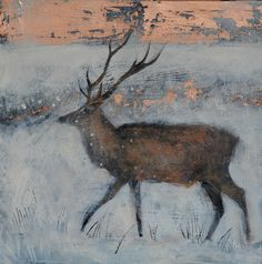 THE ICE FILLED AIR Catherine Hyde Greeting Card