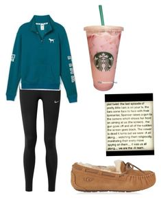 """""""〰️〰️"""" by kaelyn-grace-1 on Polyvore featuring NIKE and UGG"""