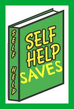 #SelfHelpBooks really can help you through those challenging times in life, you don't have to read them the whole way through, just pick out the chapters you need and read, then put the book back on the shelf so you can refer to it again sometime in the future!