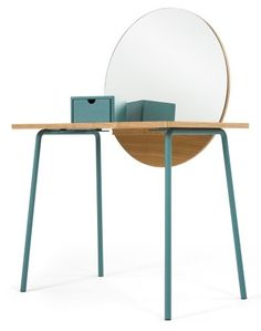 The Aldo Dressing Table in Ash. £259 | MADE.COM