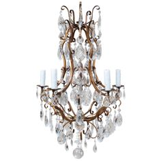 Louis XV Style Chandelier   From a unique collection of antique and modern chandeliers and pendants  at http://www.1stdibs.com/furniture/lighting/chandeliers-pendant-lights/