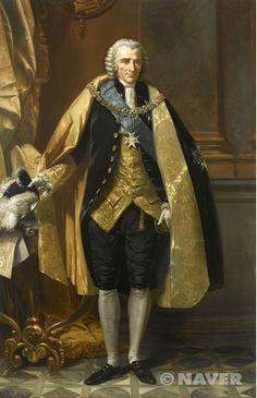 '리슐리외 공작 루이-프랑수아-아르망 드 비뉴로 뒤 플레시스 (1696-1788)', 루이 샤를 오귀스트 쿠데, 19세기경, 낭만주의. 이 당시…
