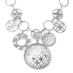 John Hardy Sterling Silver Kawung Circle Charm Necklace - $379.99
