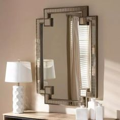 Baxton Studio Large Rectangle Antique Silver Contemporary Mirror (49 in. H x 35 in. W)-150-8885-HD - The Home Depot Home Bar Sets, Freestanding Mirrors, Silver Wall Mirror, Mirror Mirror, Contemporary Wall Mirrors, Baxton Studio, Home Decor Trends, Furniture Deals, Bedroom Furniture
