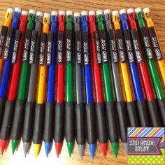 2nd Grade Stuff: Surviving the Pencil Problem!