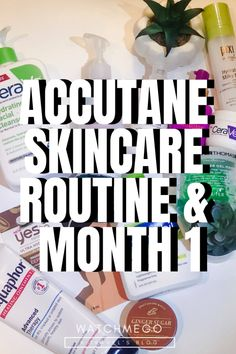 Accutane Journey Skincare Routine & Month 1 – Watch Me Go Skin Care Routine For 20s, Skin Routine, Skincare Routine, Skincare Dupes, Korean Beauty Routine, Beauty Routines, Skin Care Regimen, Skin Care Tips, Homemade Skin Care