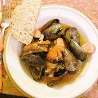 Mussels Cataplana Style