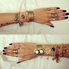 #gold #jewellery #detail #armcandy #tattoos
