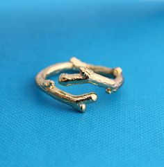 Twig Ring in Gold Vermeil | LEIF