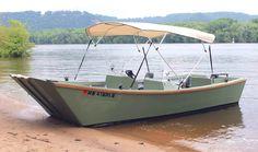 Galveston Garvey Dory Easy Boat Plans