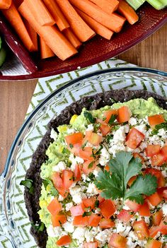 Black Bean and Sweet Corn Guacamole Dip Recipe