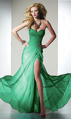 Strapless Sweetheart Floor Length Strapless Long Chiffon Gown [DFH-1202081615] - $138.00 : Dresses for Homecoming, Under 100 Homecoming Dresses Cheap,prom dresses 2012