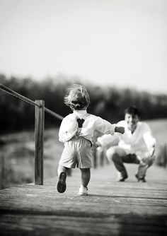 Great father-son shot! (can work for girls too!)