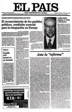 El País, primer número 1976